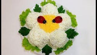"""САЛАТ""""ЦВЕТОК""""(salad """"flower"""")"""