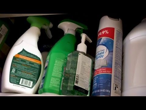 Poison control sees spike in cases involving kids and cleaning products