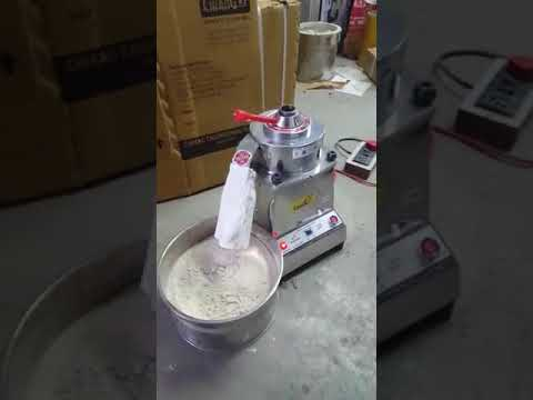 SS Table Top 1 HP Flour Mill
