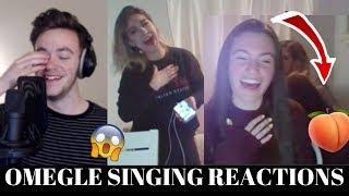 OMEGLE SINGING REACTIONS (SHE TWERKED TO ME SINGING) | EP. 17