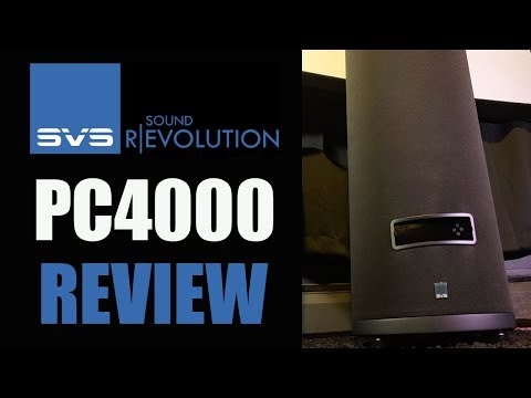 SVS PC-4000 Subwoofer Review | HUGE BASS small SPACE!!!
