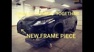 Rebuilding 2017 Lexus RX350 Fsport from Copart part 6