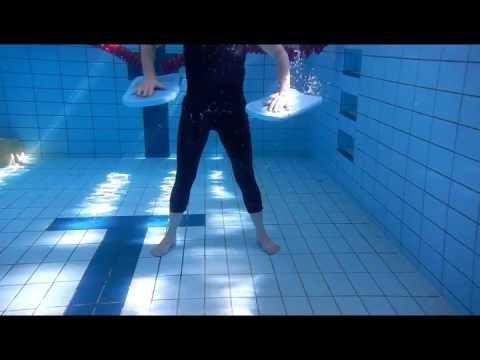 WETS Kickboard double tuck aqua move