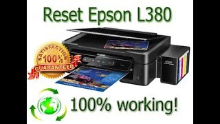 💋 Epson l380 resetter free download link | Waste Ink Pad Counters