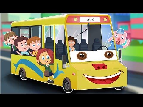Schoolies | Wheels On The Bus | Baby Nursery Rhymes | Kids Rhyme