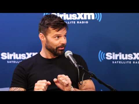 Ricky Martin Met His Future Husband on Instagram // SiriusXM // Radio Andy