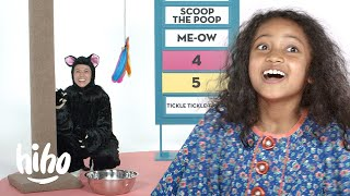 8 Year Old Debates Her Mom For A Cat | Spirited Debates | HiHo Kids
