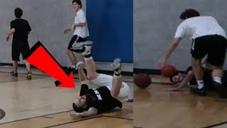 THE HARDEST BASKETBALL GAME I'VE EVER PLAYED! *choked?*