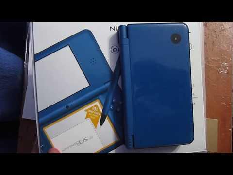 Nintendo DSi XL Midnight Blue Unboxing (2013)