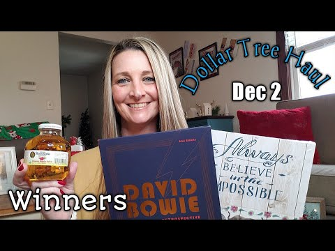 Dollar Tree Haul ❤/ New Items/ Dec 2