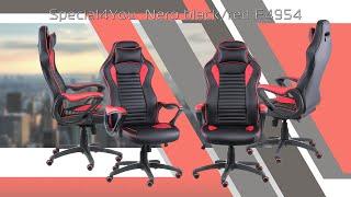"Кресло Special4You Nero Black/Red (E4954) от компании Компания ""TECHNOVA"" - видео"