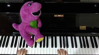 i love you song barney - TH-Clip