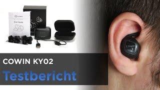 COWIN KY02 im Test - TWS Bluetooth-Kopfhörer mit langer Laufzeit und Ladebox