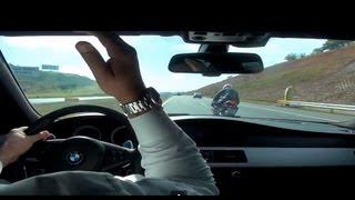 BMW M5 V10 x REPSOL HONDA CBR 1000