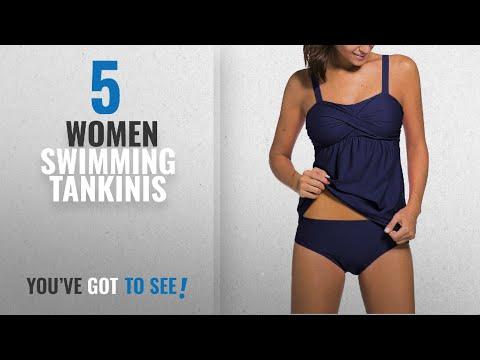 Top 10 Women Swimming Tankinis [2018]: Happy Sailed Tankinis For Women Swimming Costume Tankini