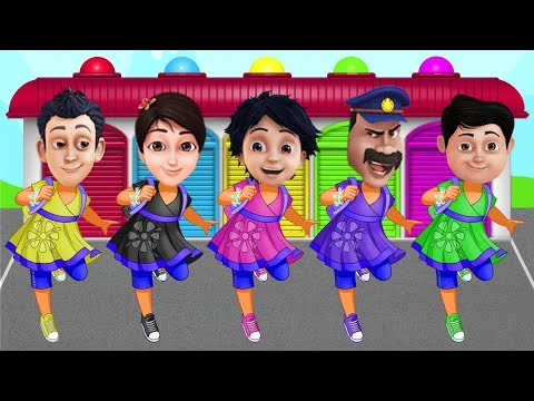 Shiva ANTV Transform into Dora the Explorer Learn Colors Preschool Education Kids & Toddlers