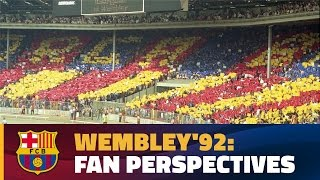 FC Barcelona - UD Sampdoria (1-0) from the stands