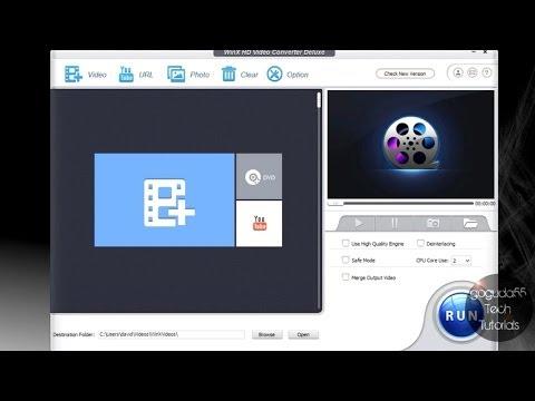 WinX Video Converter  tutorial