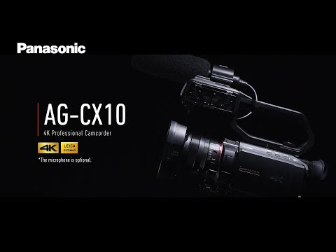 Introducing Panasonic 4K Professional Camcorder AG-CX10