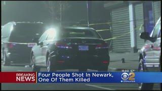 4 Shot, 1 Fatally, In Newark