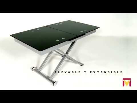 Mesa de centro elevable y extensible modelo Xert Moblerone