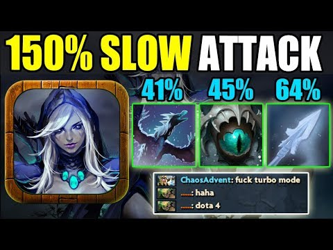 MAX Movement Slow Abuse In Dota 2 [You Can't Move] Ability Draft
