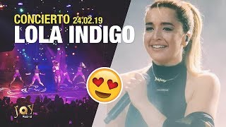 Concierto Lola Indigo  Madrid Joy Eslava 24.02.19