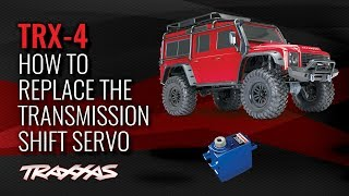 How to Replace the Transmission Shift Servo | Traxxas TRX-4