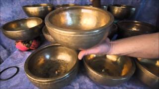 12 Bowl Chromatic Lingam Set Med Jun 2014