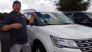 2017 Ford Explorer Windshield Replacement Features