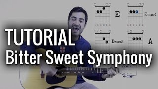 Bitter Sweet Symphony TUTORIAL ♪ Aprendiz de Guitarra TV