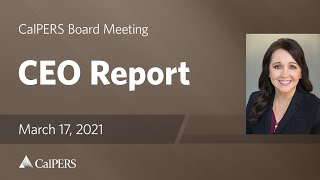 CEO Report | March 17, 2021