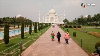 Coronavirus: Taj Mahal s-a redeschis, în pofida creşterii numărului de infectări din India