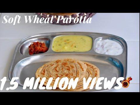 Soft Wheat Parotta/ Gothambu Parotta/Wheat Lachaa Paratha