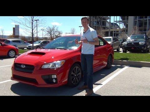 Review: 2015 Subaru WRX Premium