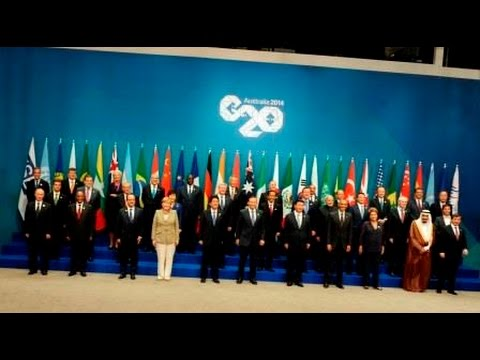 PM Modi with World Leaders at G20 Summit in Brisbane