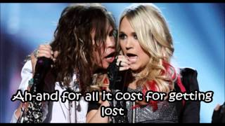 Aerosmith - Can't Stop Lovin' You (with lyrics)