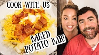 BAKED POTATO BAR | COOK WITH US | JESSICA O'DONOHUE