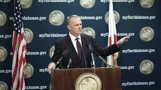 FULL: 10.26.2017 - Speaker Corcoran announces he has filed a lawsuit against the City of Tampa chall