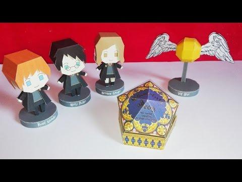3 DIY : Harry Potter - Collaboration avec Creation-Jade-B - Papercraft Harry Potter