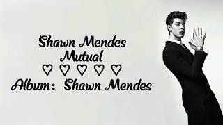 Shawn Mendes   Mutual (Lyrics)
