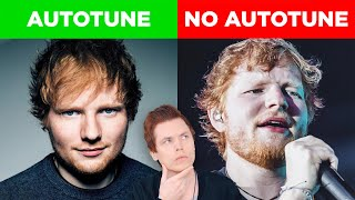 Autotune Vs No Autotune (Ed Sheeran, Katy Perry & More!)