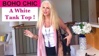 Boho Chic Fashion Style For Older Women