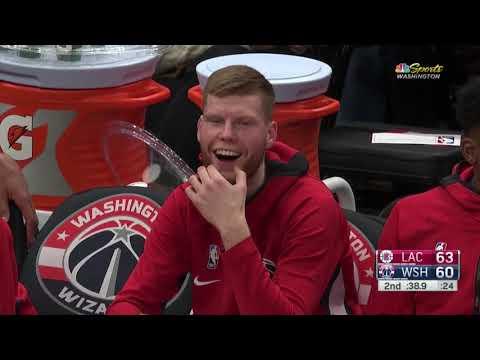 Davis Bertans vs Clippers: 25 pts, 3 reb, 2 ast, 1 stl ALL PLAYS 2019/2020 Season [08.12.19.]