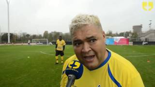 Heavy D of Big Brother Interview at Soccer Six 2016 by WinkBall