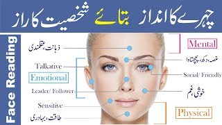 Face Reading in Urdu Hindi   How to Read Faces   Face reading techniques