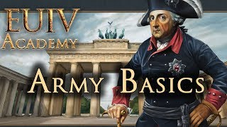 EU4 Academy: Army Basics - Europa Universalis IV (EUIV) Tutorial (Beginners)