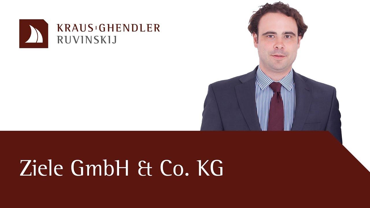 Ziele einer GmbH & Co. KG Gründung
