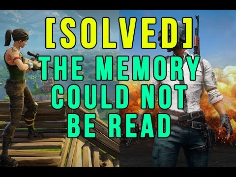 Fortnite | [SOLVED] The Memory could not be read (works on any game also)