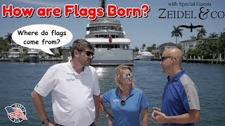 How are Flags Born? | Flag Etiquette for Boats